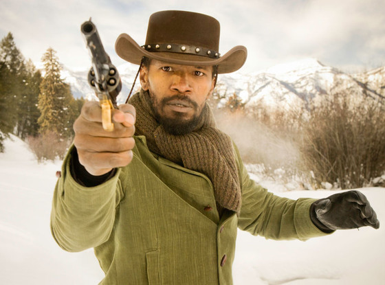 Jamie Foxx as Django