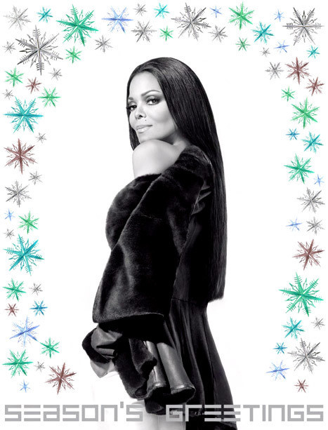 Janet Jackson Holiday Card