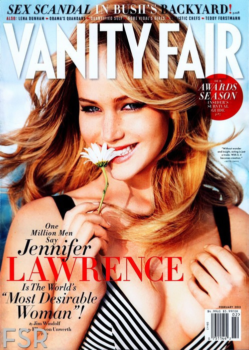 Jennifer Lawrence Vanity Fair Pic