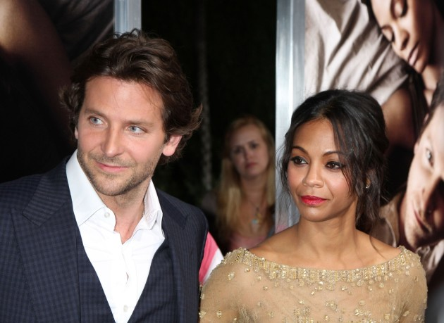 Zoe Saldana and Bradley Coope