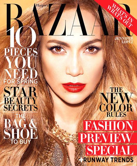 Jennifer Lopez Harper's Bazaar Cover