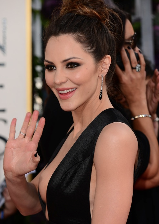 Katharine McPhee Golden Globe Dress