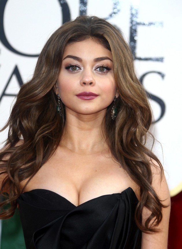 Sarah Hyland Golden Globes Dress