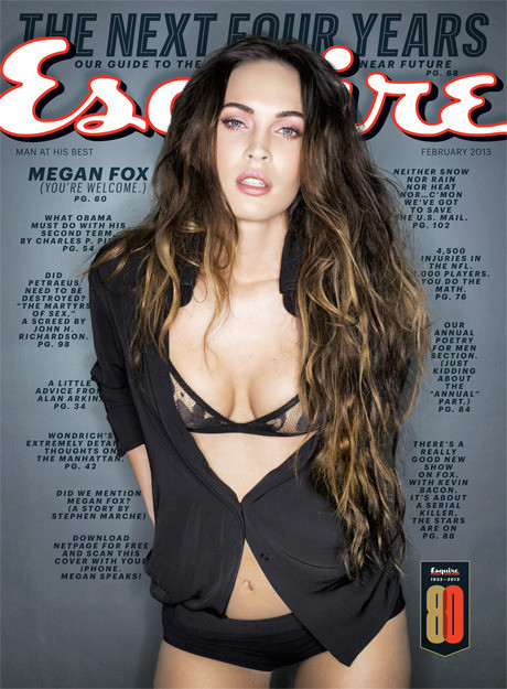 Megan Fox Esquire Cover