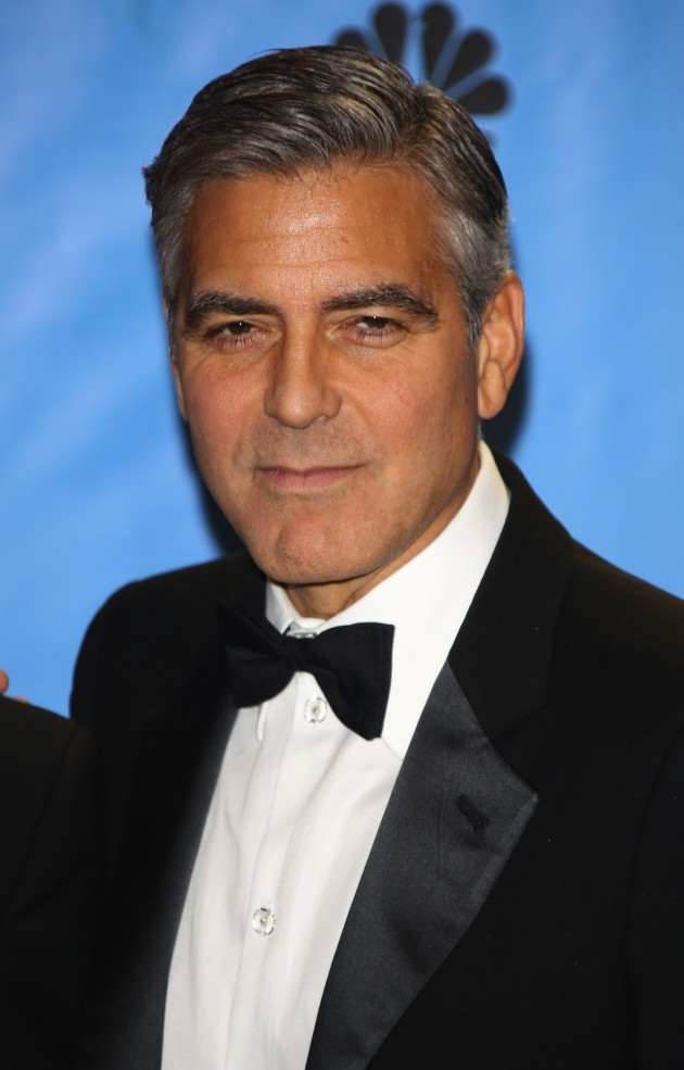 George Clooney at the Golden Globes