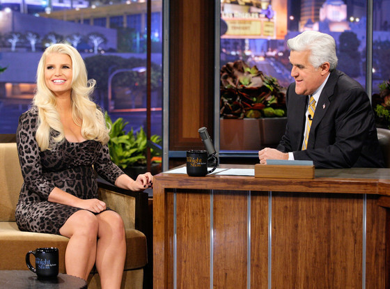 Jessica Simpson on Jay Leno
