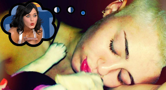 Miley Cyrus Dreaming