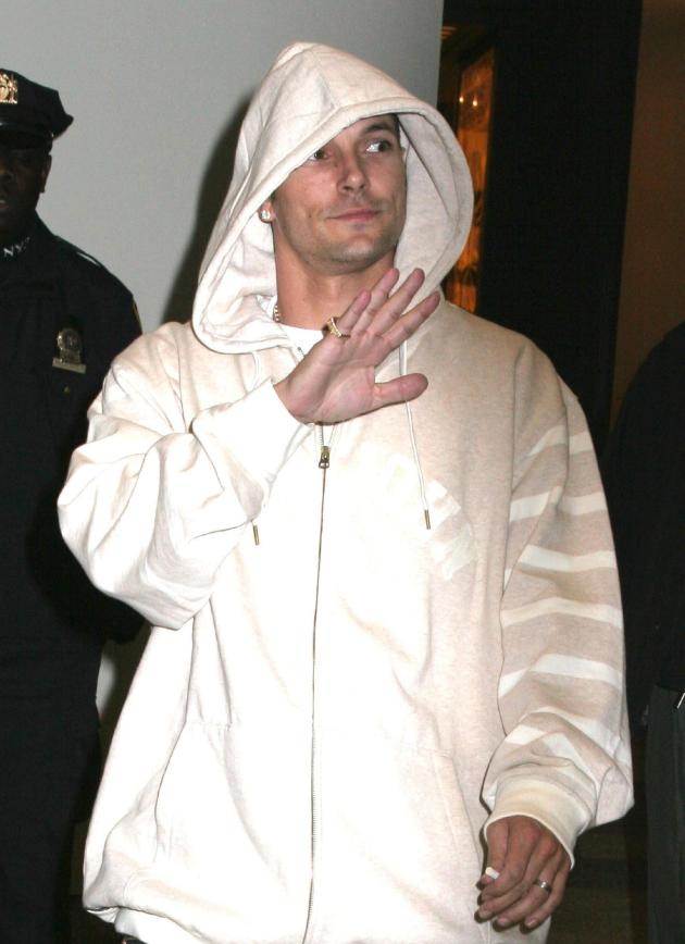 Kevin Federline White Jacket