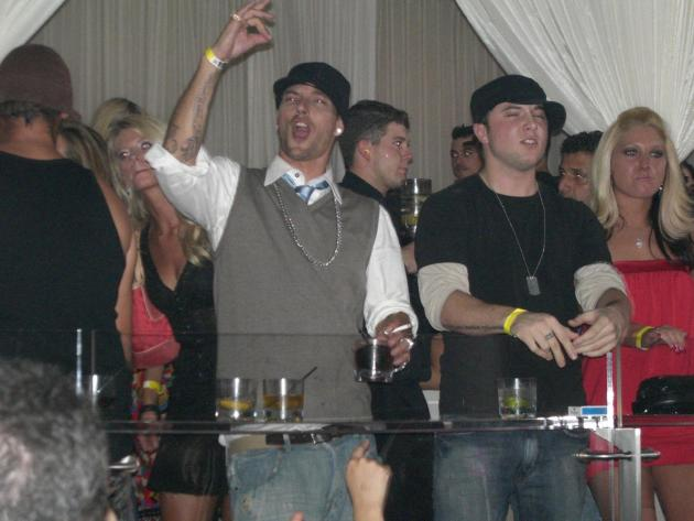 Kevin Federline Fist Pump