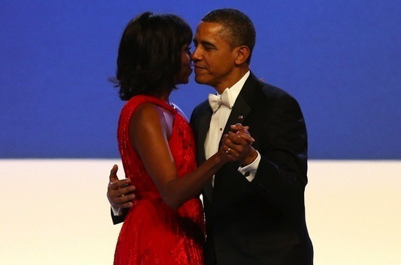 Michelle Obama Inaugural Ball Photo