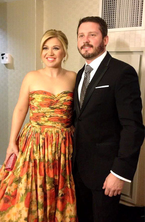 Brandon Blackstock and Kelly Clarkson