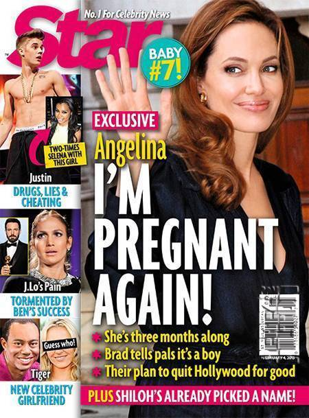 Angelina Jolie: Is She Pregnant Again?