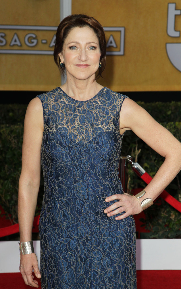 Edie Falco SAG Fashion