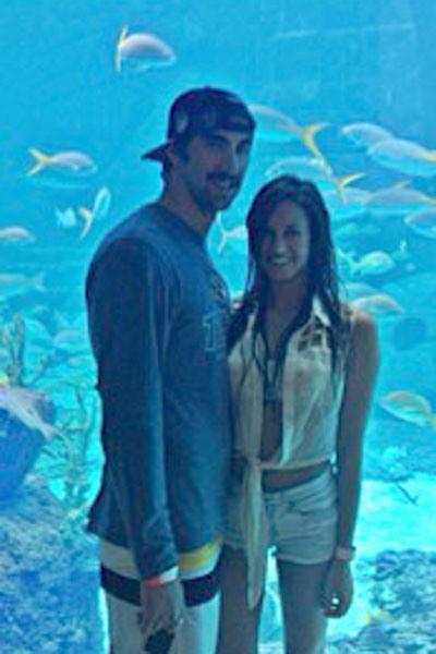 Sarah Herndon and Michael Phelps