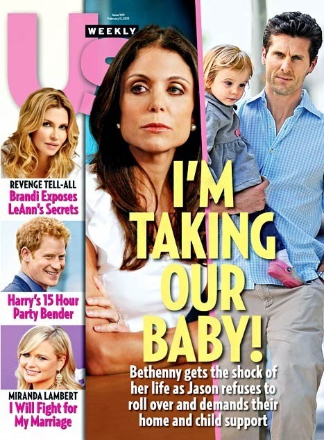 Bethenny Frankel Tabloid Cover
