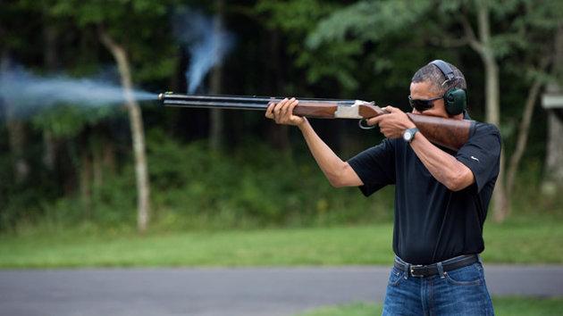 Obama Gun Photo