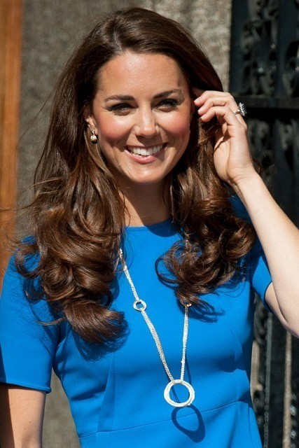 Kate Middleton Wavy Hair