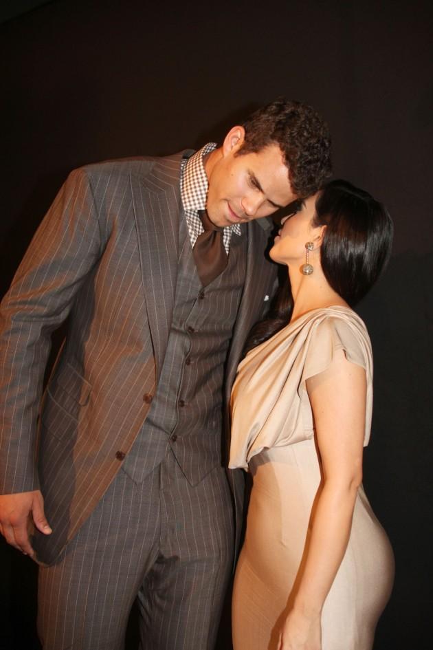 Kris with Kim