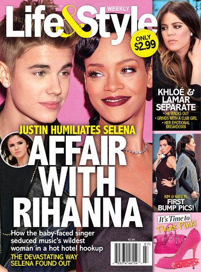 Justin Bieber and Rihanna?!?