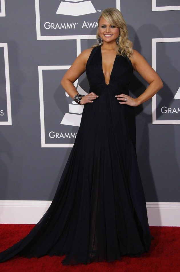 Miranda Lambert at the 2013 Grammys