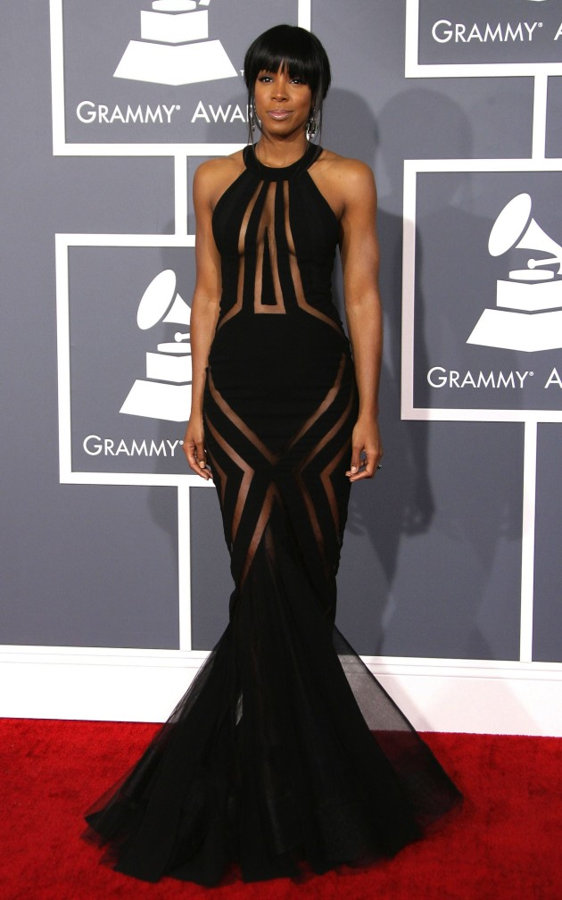 Kelly Rowland at the Grammys