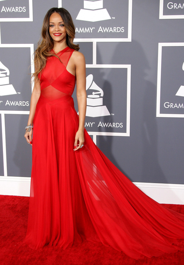 Rihanna at 2013 Grammys