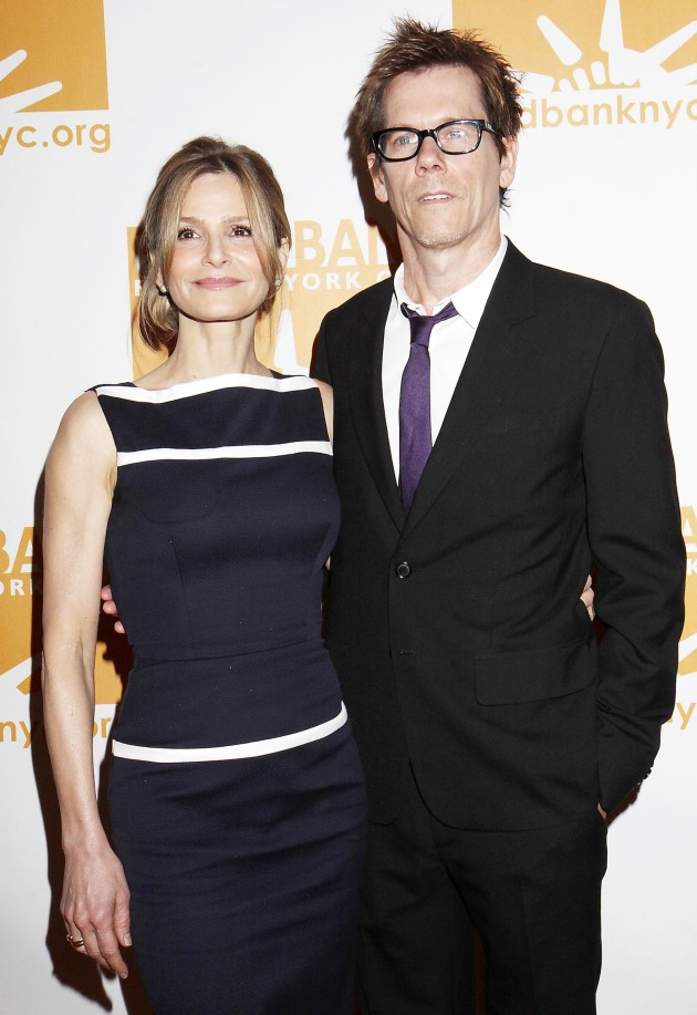 Kevin Bacon and Kyra Sedgwick
