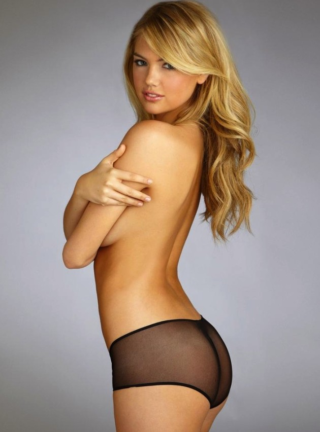 Kate Upton Topless, Underwear Photo