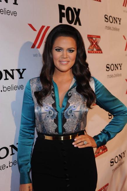 Khloe Kardashian X Factor Picture