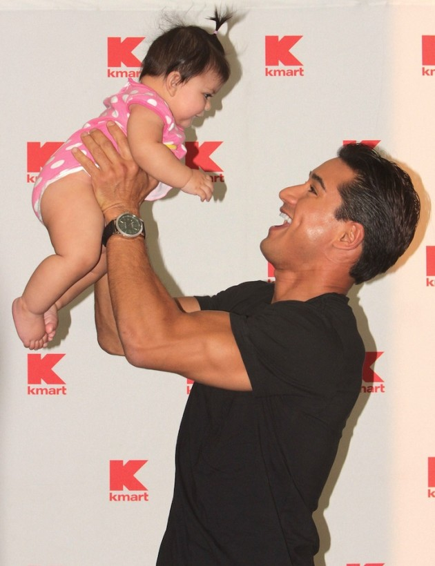 Mario Lopez as a Father