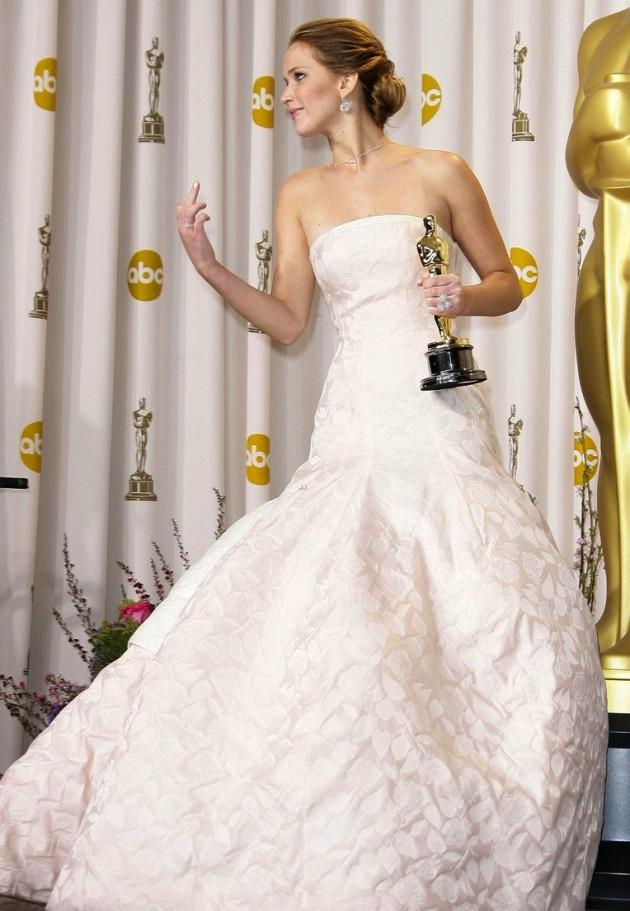 Jennifer Lawrence Middle Finger