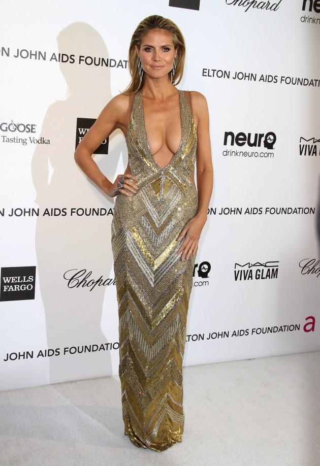 Heidi Klum Breasts Alert