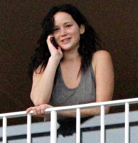 Jennifer Lawrence, No Makeup