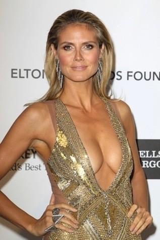 Heidi Klum Academy Awards Dress