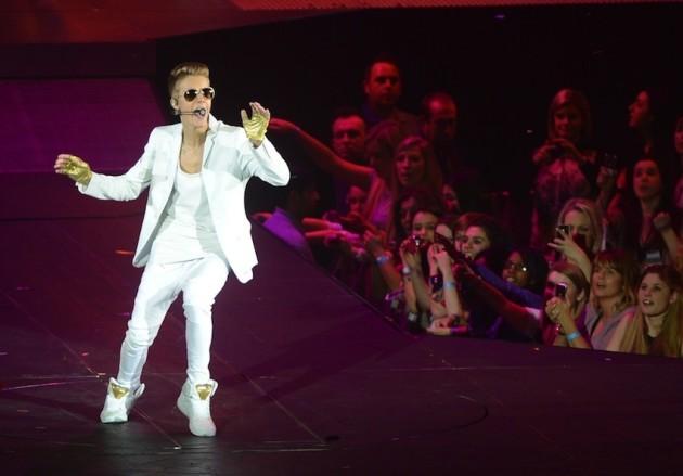 Justin Bieber in Action
