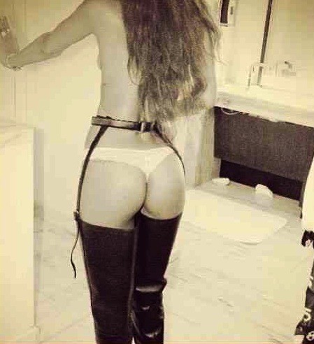Rihanna Thong Photo