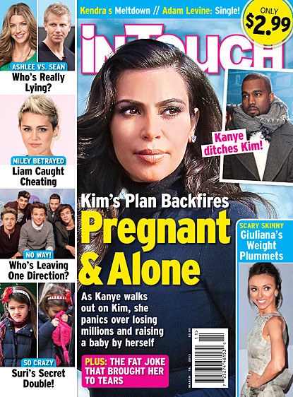 Kim Kardashian Pregnant... and Alone?!?