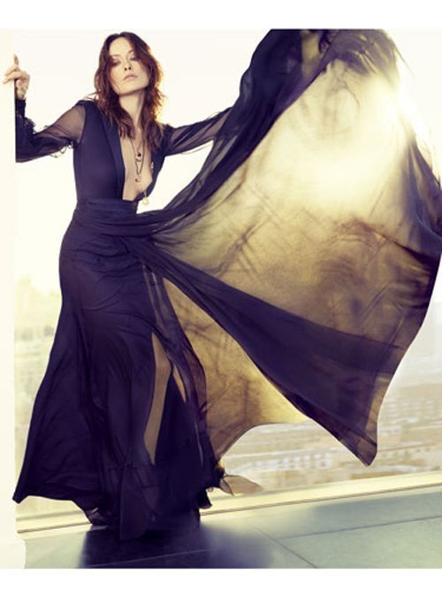 Olivia Wilde for Marie Claire