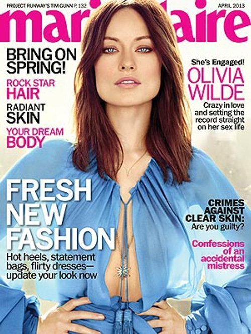 Olivia Wilde Marie Claire Photo