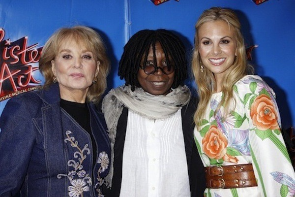 Elisabeth Hasselbeck, Whoopi and Babs