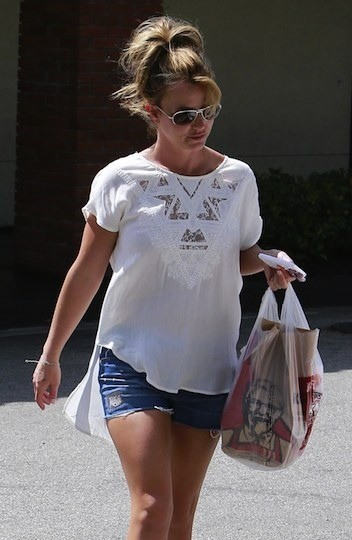 Britney Spears, KFC Photo