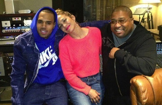 Chris Brown and J. Lo Pic