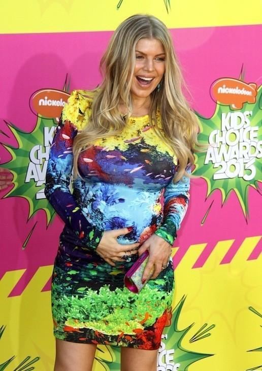 Fergie Baby Bump Pic