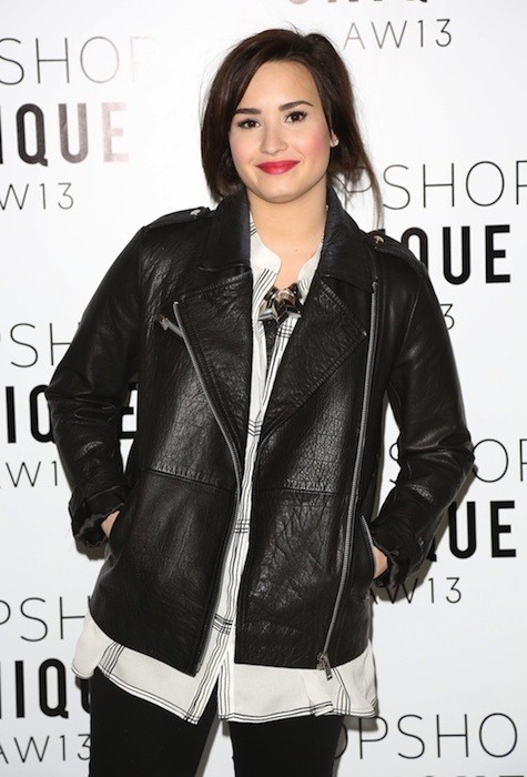 Demi Lovato Red Carpet Pose