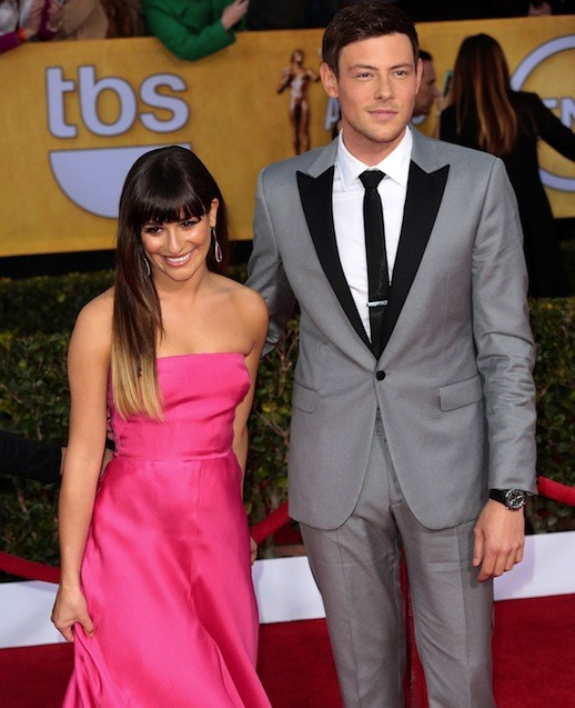 Cory Monteith and Lea Michele Pic