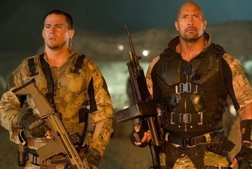 G.I. Joe Retaliation Channing Tatum Dwayne Johnson