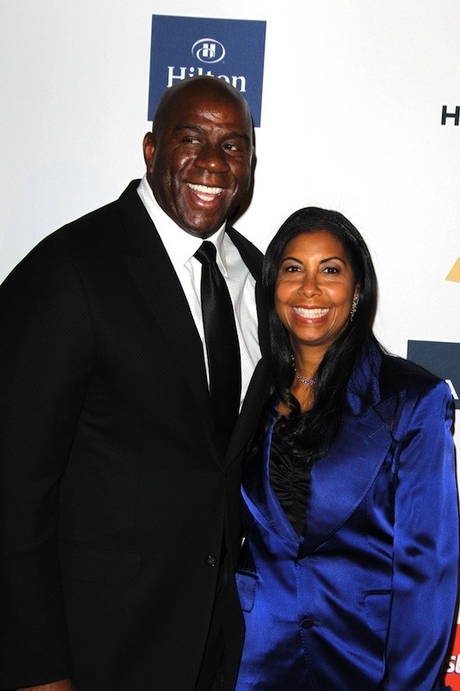 Magic Johnson, Wife