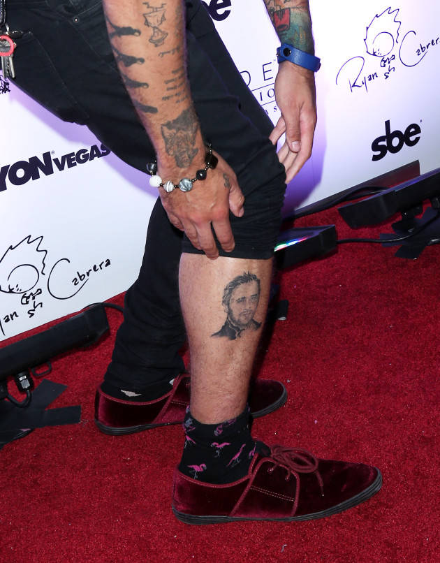 Ryan Cabrera Tattoo