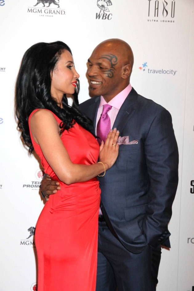 Mike Tyson, Wife