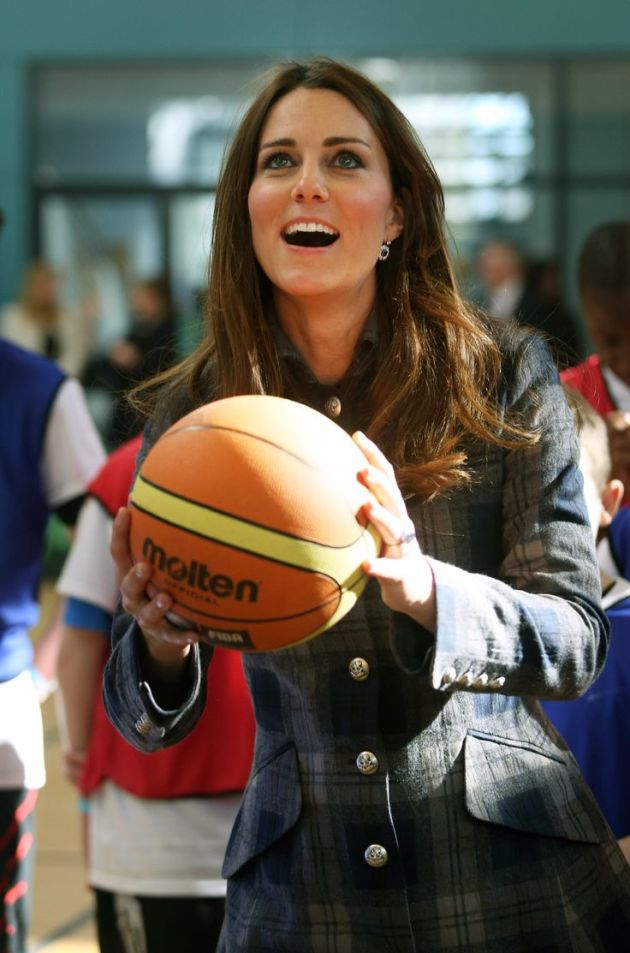 Kate Middleton, Basketball